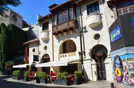 Barrio Lastarria in Santiago de Chile