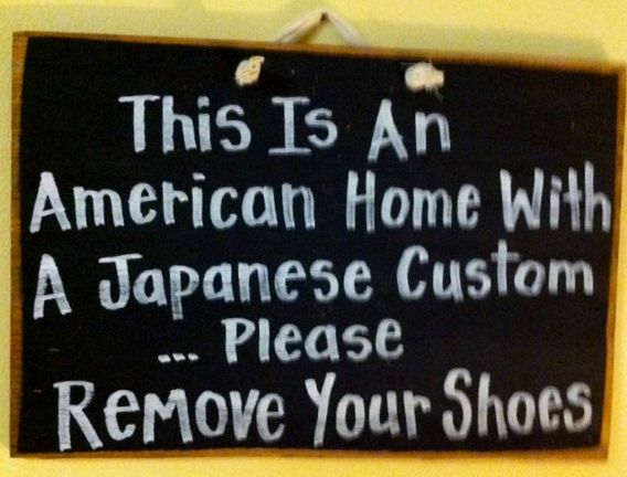 would really love to make this sign...except instead of Japanese, it'd be Korean.
