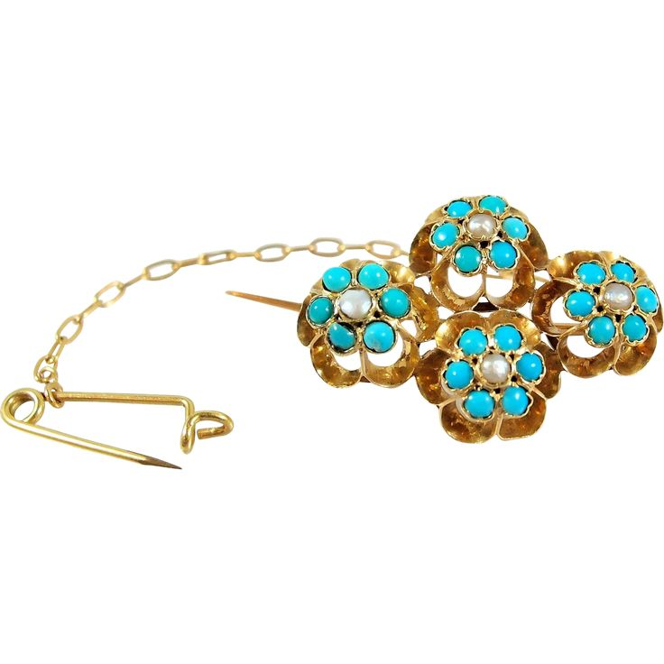 562 best Vintageantique TURQUOISE jewelry images on Pinterest