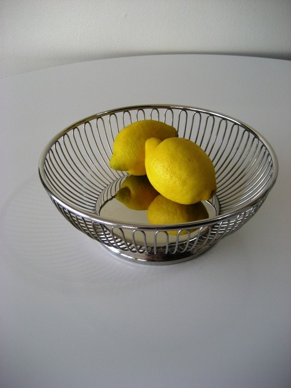 Rare alfra alessi wire fruit basket wire baskets and fruit - Alessi fruit basket ...