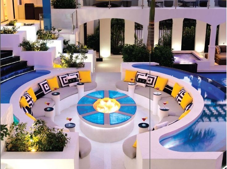 Conversation pit like this one