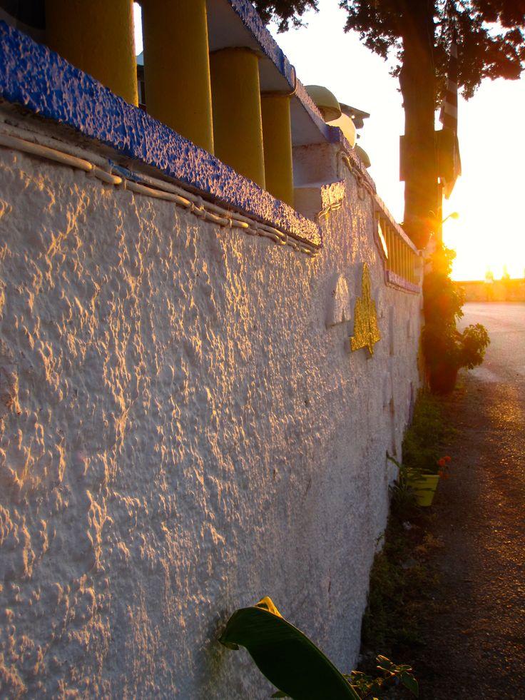 Wall - Sunset - Kos - Greece