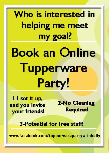 7 best Tupperware Party with Kelly images on Pinterest ...