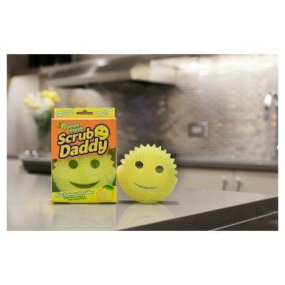 Scrub Daddy Lemon Fresh Scratch Free Sponge
