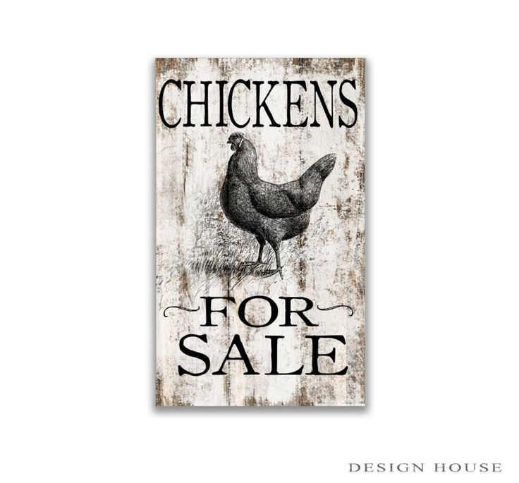 """chickens for sale wooden block sign 10""""x5""""x2"""" handmade farm signs wooden farmhouse signs small farm signs chicken art chicken signs"""
