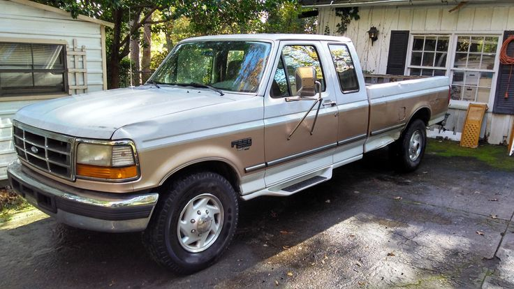 eBay: 1996 Ford F-250 XLT 1996 Ford F250 XLT 7.3L Diesel Pickup Truck - Fix / Repair Clutch - NO RESERVE #carparts #carrepair