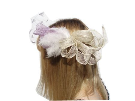 Louise Oliver - Ogbourne Matching Fascinator & Bag