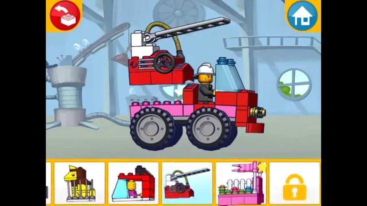 Lego Juniors! Лего Игры! ПОЖАРНЫЕ МАШИНЫ! Серия 21! Лего для МАЛЬЧИКОВ И...