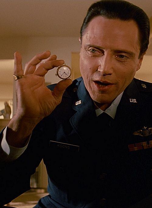"Christopher Walken in ""Pulp Fiction"" (1994). DIRECTOR: Quentin Tarantino."