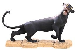 WDCC Disney Classics The Jungle Book Bagheera Mowgli's Protector # #Art Plussing: Tail: Painted metal. Retired 09/99 Bagheera Mowgli's ProtectorRetired Edition 9/99