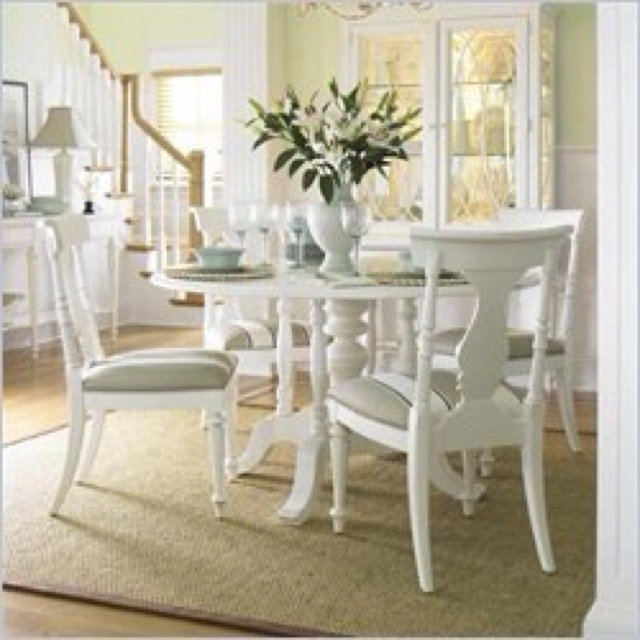 Kitchen dining set346 best  KITCHEN AND DINING ROOM TABLE AND CHAIR SETS  images on  . Distressed White Dining Set. Home Design Ideas