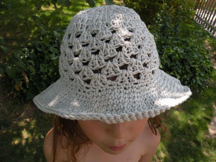 tuto chapeau crochet pour enfant