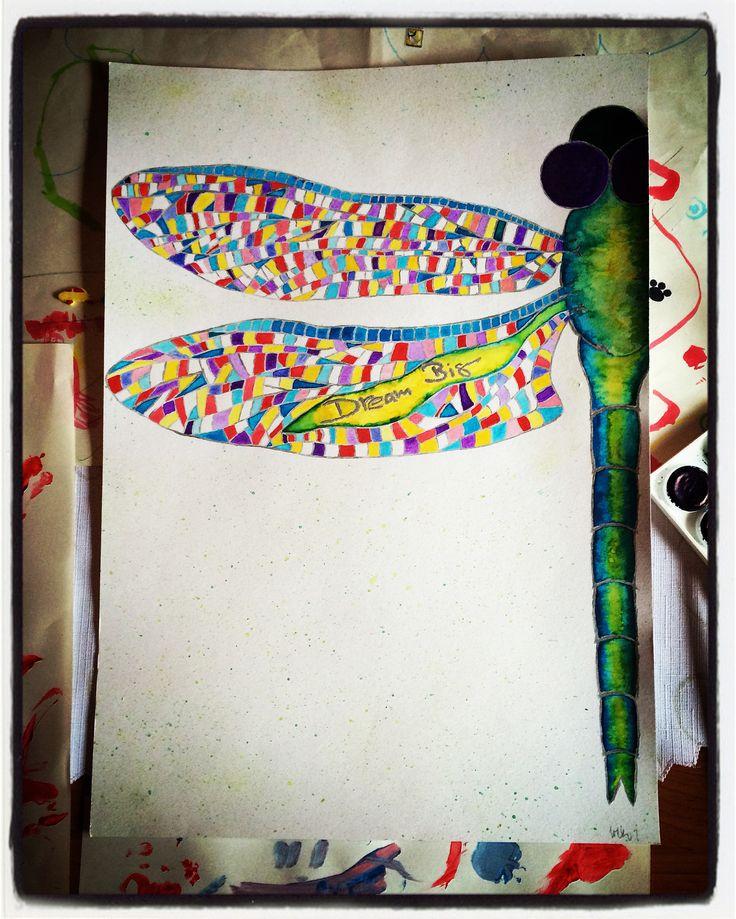 dragonfly  dream big