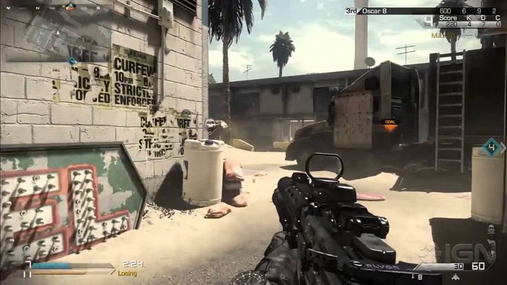 Call of duty ghosts playing blitz mode with infinity