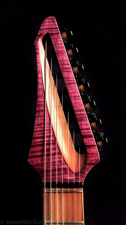 Anasontzis guitars - Custom made guitars - Handcrafted in EU.
