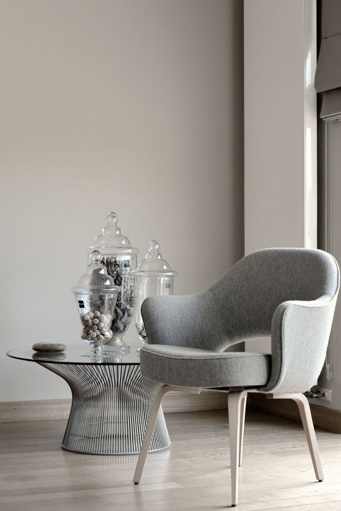 knoll : conference chair saarinen / platner table https://www.emfurn.com