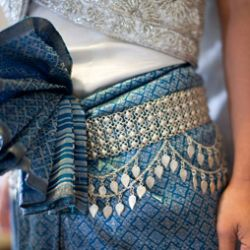 This Cambodian wedding had 3 outfit changes and 3 ceremonies ... GORGEOUS!!