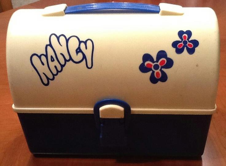 """El maletín de la Nancy...mi primera """"pesadilla""""!! No hay nada como tener una hermana mayor muy simpática!!jajaja!"""