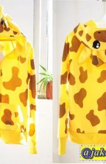 Cute Jaket Giraffe Hoodie