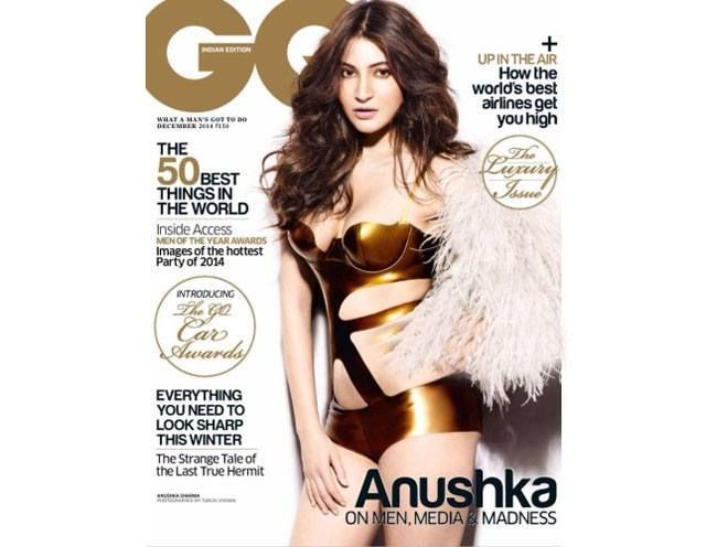These #Magazine Covers Feature Some Of The Most Amazing Faces From #Bollywood - #Anushka Sharma on GQ India