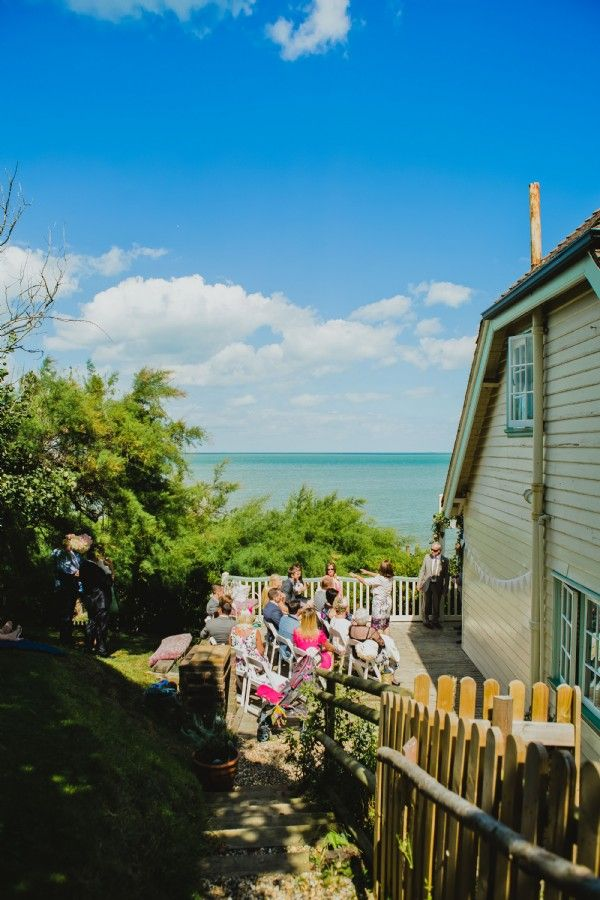 beach wedding south west uk%0A View out to see from the Artists Beach House  Whitstable