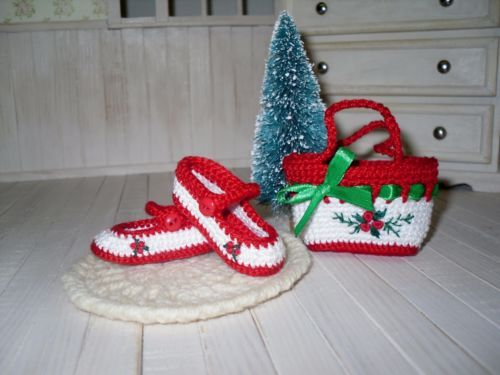 Dianna-Effner-Little-Darling-shoes-and-bag-crochet-and-embroidered
