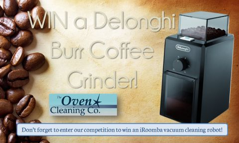 WIN a Delonghi Burr Coffee Grinder!
