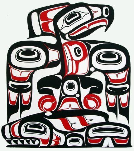 90 best pacific northwest indian art images on pinterest aboriginal art native american art. Black Bedroom Furniture Sets. Home Design Ideas