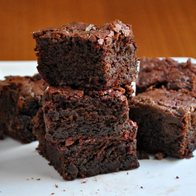 It was my friend Shashi of Runnin Srilankin who inspired these brownies. She posted Chocolate Beet Cookies and I couldn't stop thinking about them. I'd eaten (and loved) chocolate beet cake, but cookies? Then I wondered, what about brownies? Beets and brownies are buddies.  If it seems strange to put beets into a dessert, consider...Read More »