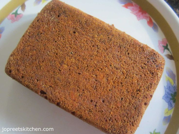 Ragi Banana Bread / Eggless Ragi Honey Bread | Indian Kitchen