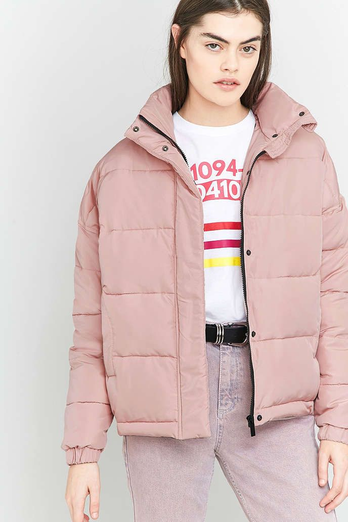 Light Before Dark – Kurze Steppjacke - Urban Outfitters