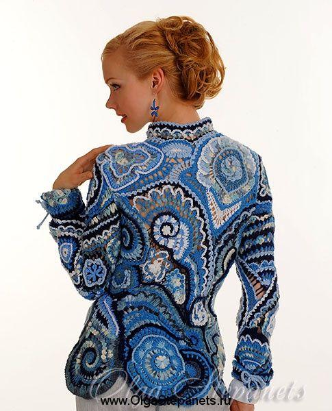 фриформ free-form crochet