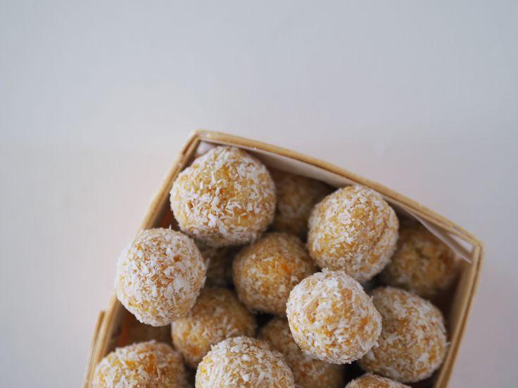 Thermomix No Bake Apricot Balls Recipe - Fat Mum Slim