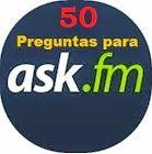Hola amigos de preguntas para ask, Hoy les traigo este pack de 50 preguntas muy interesantes que pueden hacerlo a los contactos de ask.fm. Son preguntas ale
