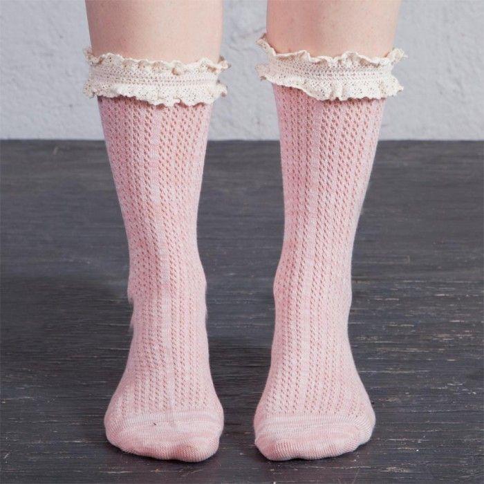 Arthur George by Robert Kardashian Sweetheart Ruffle Anklets