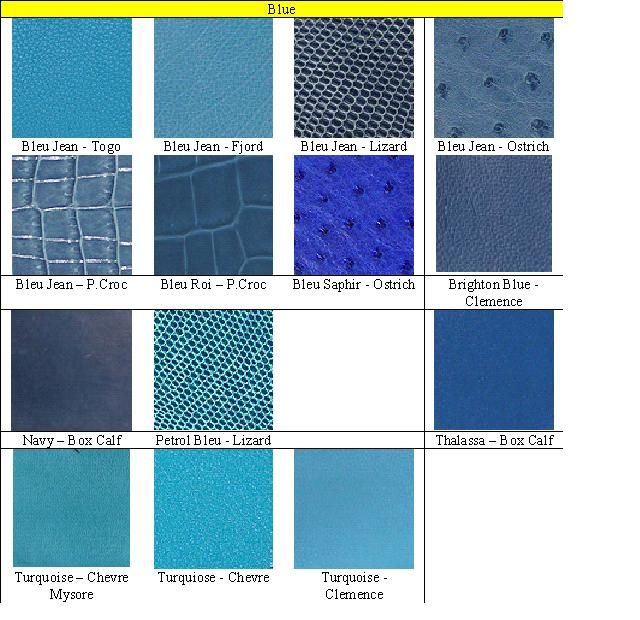 12 Best Leather Samples Images On Pinterest | Colour Chart, Colors