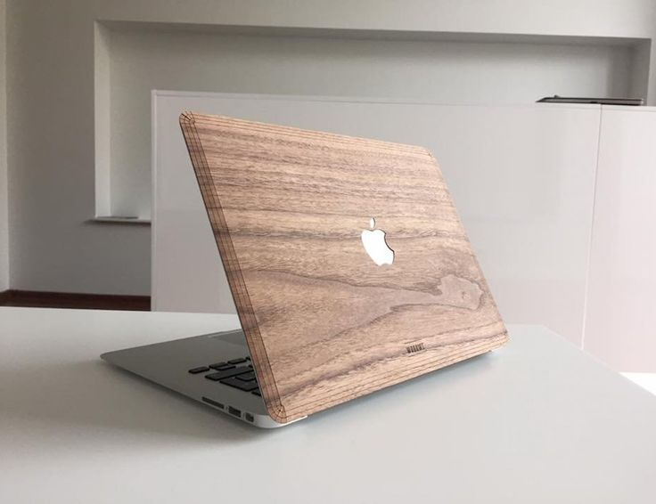 Beautifully designed and crafted, this luxurious case is made with real walnut wood to keep your laptop safe yet stylish.