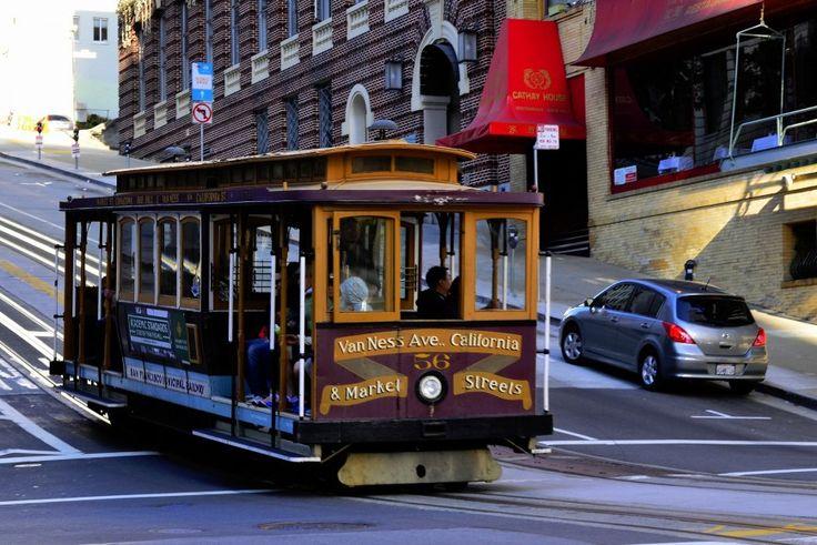 Åka spårvagn #San #Francisco #SanFrancisco #USA #California #Kalifornien #Amerika #City #Sightseeing #Spårvagn #Tram #Travel