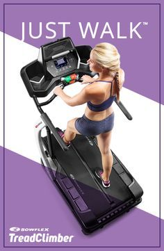 This 3-in-1 walking workout will tone your core, glutes, thighs and more in every workout! Start your fitness journey today. http://www.bowflex.com/treadclimber?adID=DOXPINTSCODE001