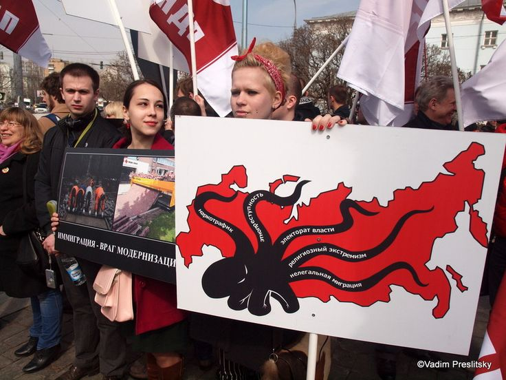 НОВЫЕ ПРАВЫЕ 2033: Москвабад: митинг «Визам - ДА!»