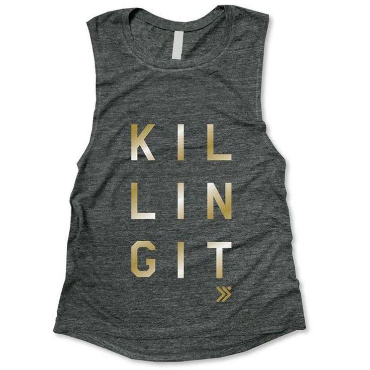 Everfitte Killing It Muscle Tank, $26; amazon.com