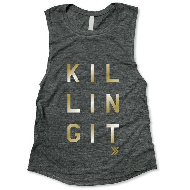 Everfitte Killing It Muscle Tank, $26; amazon.com