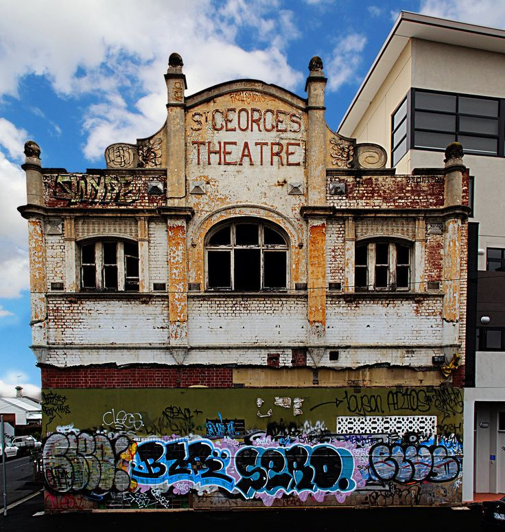 Theatre in Melbourne, Victoria. | 35 Eerie Abandoned Places In Australia That Will Give You Chills