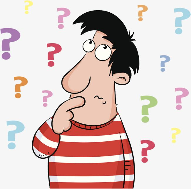 A Cartoon Illustration Is Confused By A Pile Of Questions Cartoon Confused Confused Person Png And Vector With Transparent Background For Free Download Cartoon Illustration Cartoon People Illustration