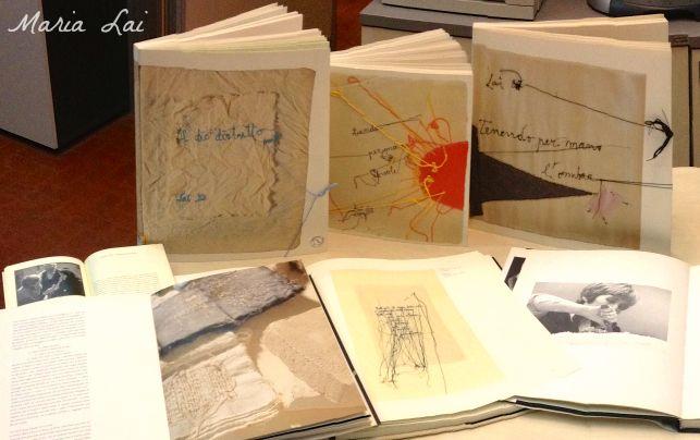 """""""L'idea di costruire immagini inconsuete che siano racconto di una fiaba è stratagemma per catturare il lettore più disorientato davanti all'arte e condurlo ad una lettura che lo coinvolga come una fiaba coivolge il bambino"""".  Tenendo per mano il sole, Maria Lai, 2004: http://isegnalibri.wordpress.com/2013/04/16/maria-lai/"""
