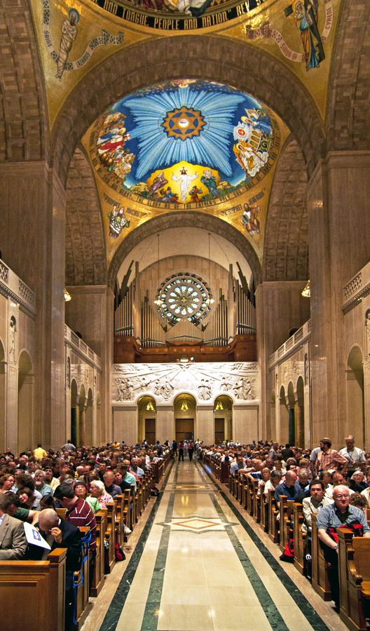 National Shrine Of The Immaculate Conception Washington