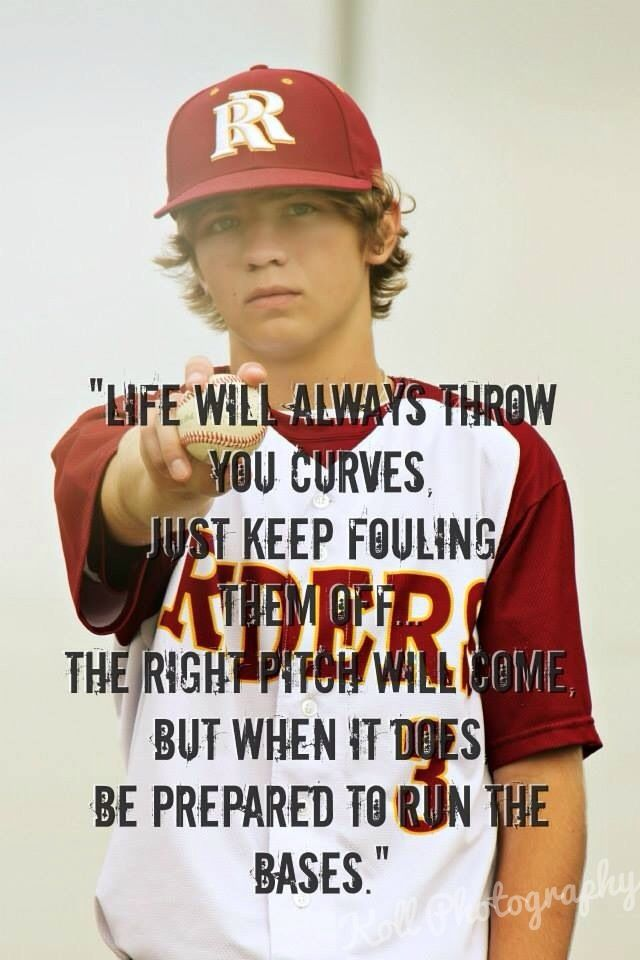 Sports quotes baseball Sports Pinterest Sport quotes