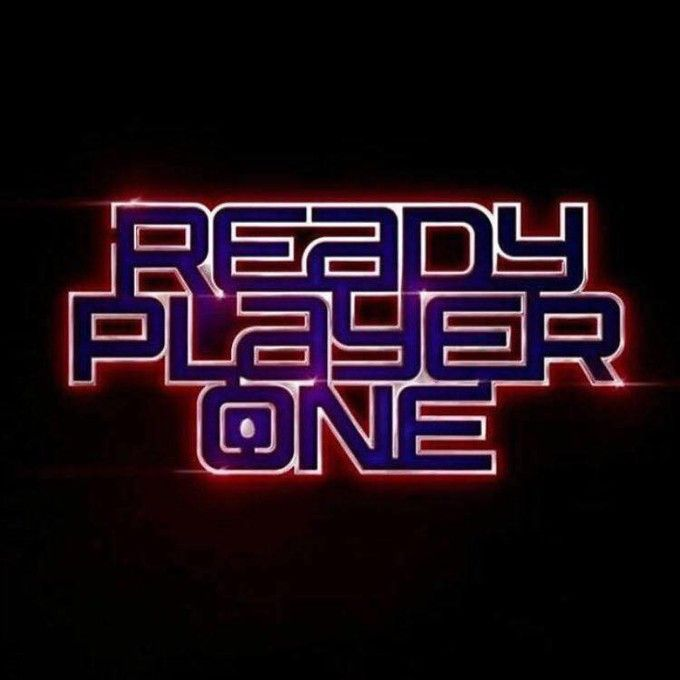 Behold - the official logo for Steven Spielberg's adaptation of Ernie Cline's READY PLAYER ONE!!!