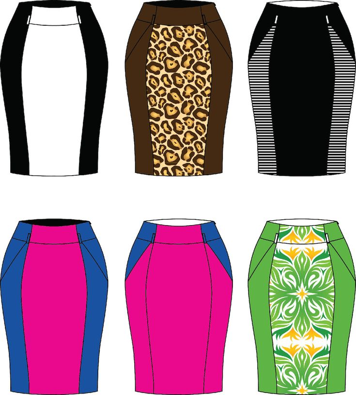 Introducing Wiggle skirt! | Iconic Patterns