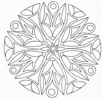 Mandala patterns - Mandala patronen